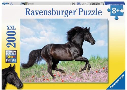 Zwarte Hengst Puzzel (200 XXL stukjes)