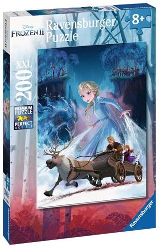 Frozen 2 - Het Mysterieuze Bos Puzzel (200XXL stukjes)