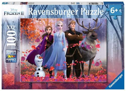 Frozen 2 - De Magie van het Bos Puzzel (100XXL stukjes)