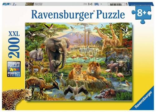 Dieren van de Savanne Puzzel (200 XXL stukjes)