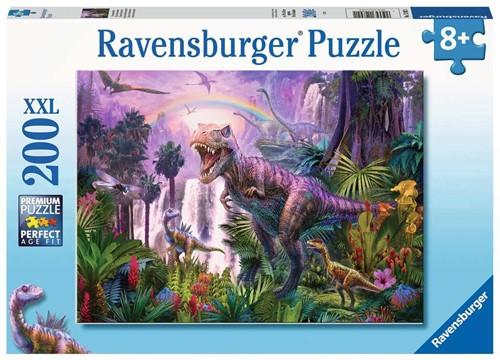 Land van de Dinosauriërs Puzzel (200 XXL stukjes)