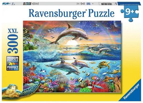 Dolfijnenparadijs Puzzel (300 XXL stukjes)