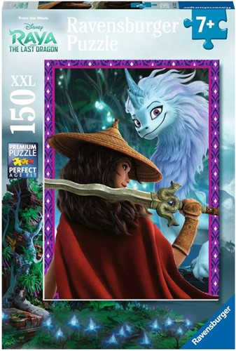 Raya and the last Dragon Puzzel (150 XXL stukjes)