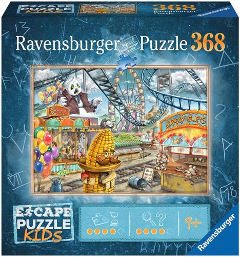 Escape Puzzel Kids - Amusement Park (368 stukjes)