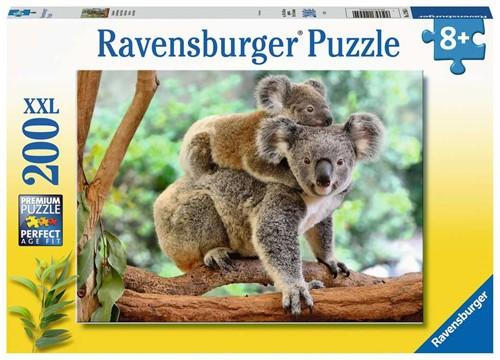 Familie Koala Puzzel (200 XXL stukjes)