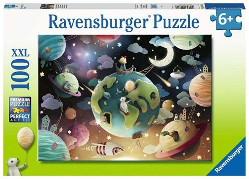 Fantasie Planeten Puzzel (100 XXL stukjes)