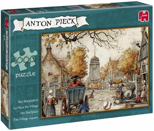 Anton Pieck - Het Dorpsplein Puzzel (1000 stukjes)-1