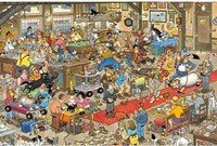 Jan van Haasteren - De Hondenshow Puzzel (1500 stukjes)-2