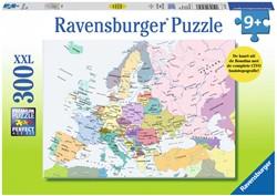 Cito - Kaart Europa Puzzel (300 stukjes)