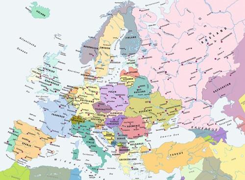 Cito - Kaart Europa Puzzel (300 stukjes)-2
