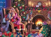 Bij de Kerstman XXL Puzzel (300 stukjes)-2