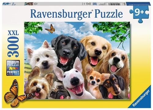 Delighted Dogs Puzzel (300 XXL stukjes)