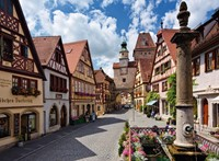 Rothenburg, Duitsland Puzzel-2
