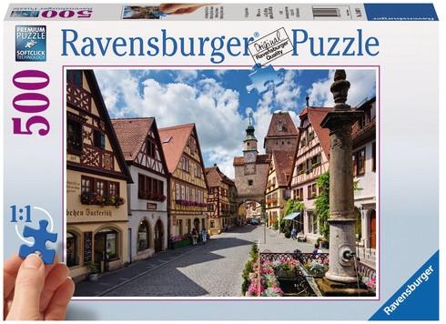 Rothenburg, Duitsland Puzzel