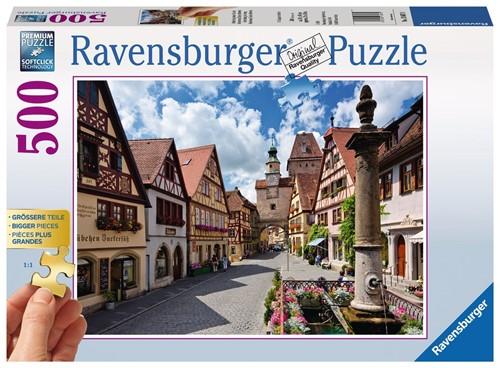 Rothenburg, Duitsland Puzzel (500 stukjes)