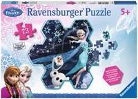 Disney Frozen Glitter Puzzel (73 stukjes)