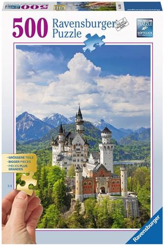Neuschwanstein XXL Puzzel (500 stukjes)