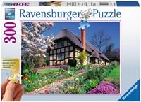 Cottage in de Lente XXL Puzzel (300 stukjes)