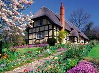 Cottage in de Lente XXL Puzzel (300 stukjes)-2