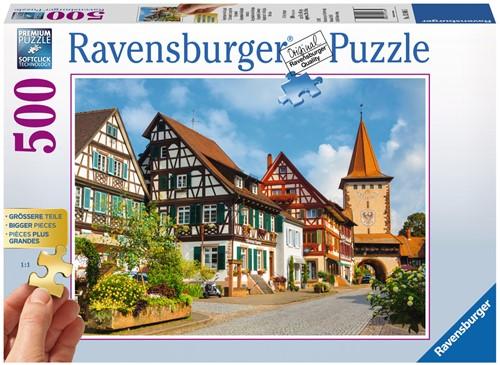 Gengenbach in het Kinzigt Puzzel (500 stukjes)-1