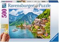 Hallstatt in Oostenrijk XXL Puzzel (500 stukjes)-1