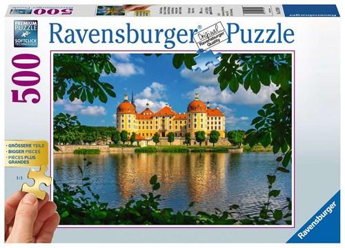 Kasteel Moritzburg Puzzel (500 stukjes)