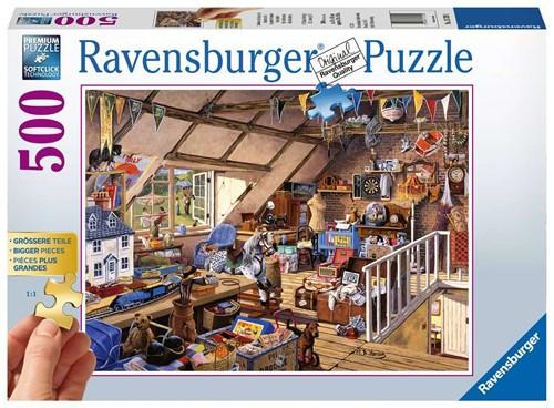 Oma's Zolder Puzzel (500 stukjes)