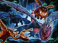 Dragons 3 Color Starline Puzzel (100 XXL)-2