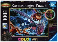 Dragons 3 Color Starline Puzzel (100 XXL)