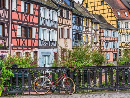 Colmar, Frankrijk Puzzel (500 stukjes)-2