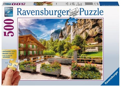 Lauterbrunnen Puzzel (500 stukjes)
