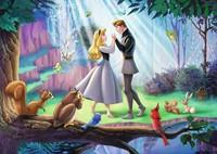 Disney Puzzel - Doornroosje (1000 stukjes)-2
