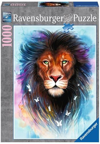 Majestueuze Leeuw Puzzel (1000 stukjes)