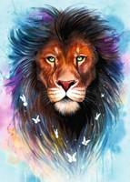 Majestueuze Leeuw Puzzel (1000 stukjes)-2