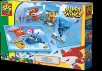 SES - Mozaïekbord met Super Wings Kaarten