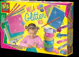 SES - Mega Glitter Knutselset - kopen bij Spellenrijk.nl