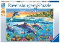 Dolfijnenbaai Puzzel