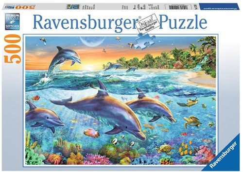 Dolfijnenbaai Puzzel (500 stukjes)