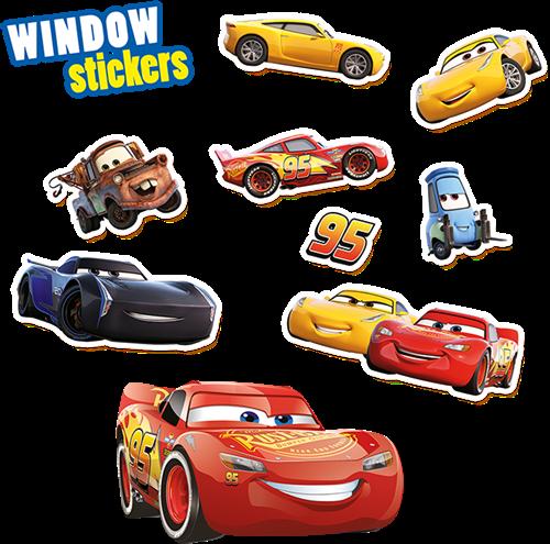 SES Raamstickers Disney Cars 3-2