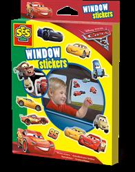 SES Raamstickers Disney Cars 3