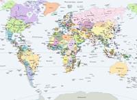 Cito - Wereldkaart Puzzel (500 stukjes)-2