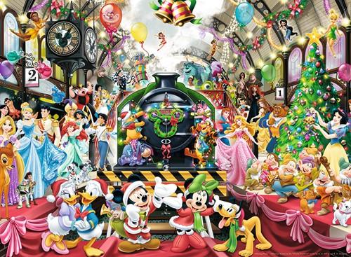 De Disney Kersttrein Puzzel (500 stukjes)-2