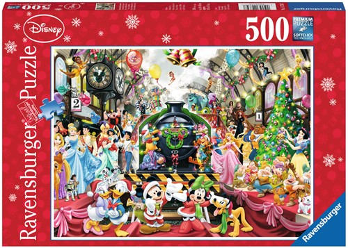 De Disney Kersttrein Puzzel (500 stukjes)