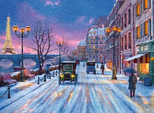 Winter in Parijs puzzel (500 stukjes)