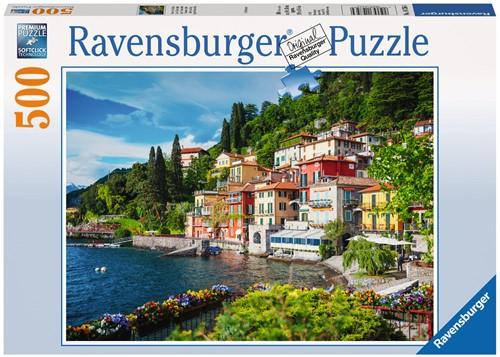 Comomeer Italie Puzzel (500 stukjes)-1