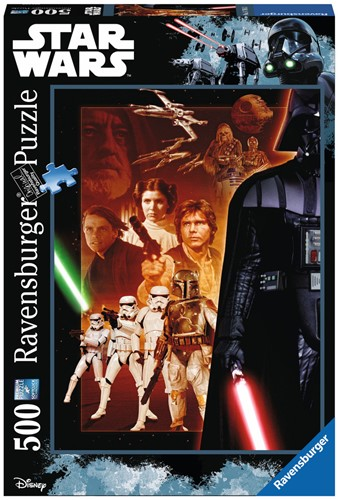 Star Wars Puzzel v2 (500 stukjes)-1