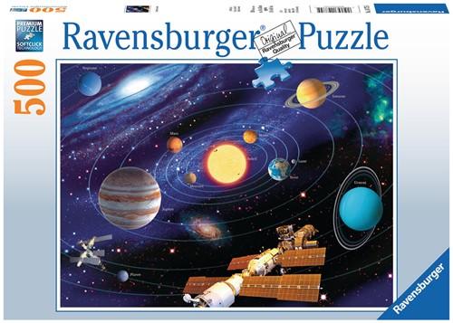 Solar Systeem puzzel (500 stukjes)-1
