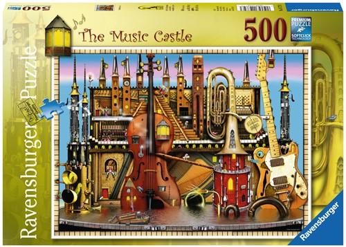 CT: Music Castle puzzel (500 stukjes)-1