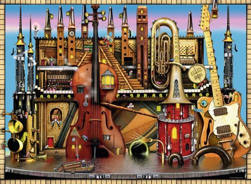 CT: Music Castle puzzel (500 stukjes)-2