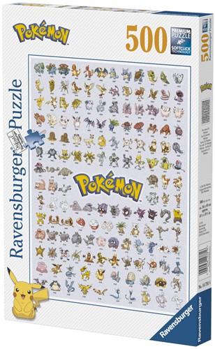 Pokemon Puzzel (500 stukjes)-1